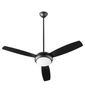 "Expo 52"" Three-Blade Matte Black LED Ceiling Fan"