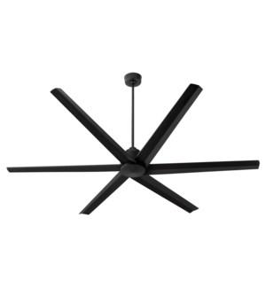"TITUS 80"" 6-Blade Matte Black Ceiling Fan"