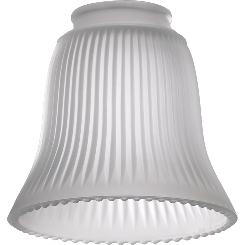 """2.25"""" FROST RIBBED BELL"""