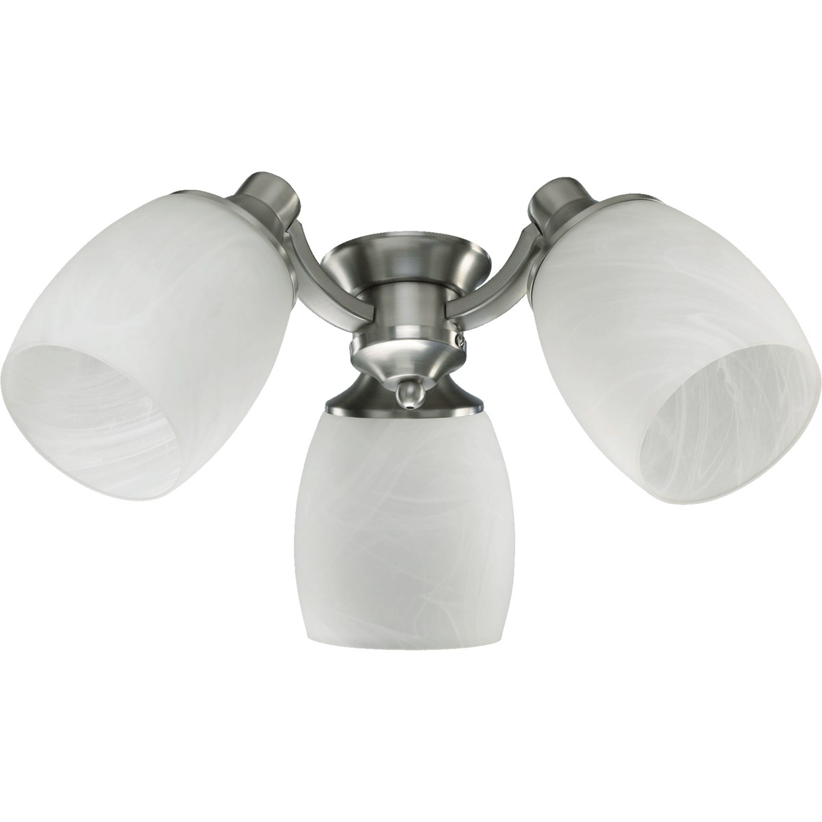 3LT CFL FAUX ALAB KIT-STN