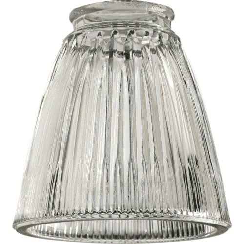 """2.25"""" CLEAR RIBBED BELL"""