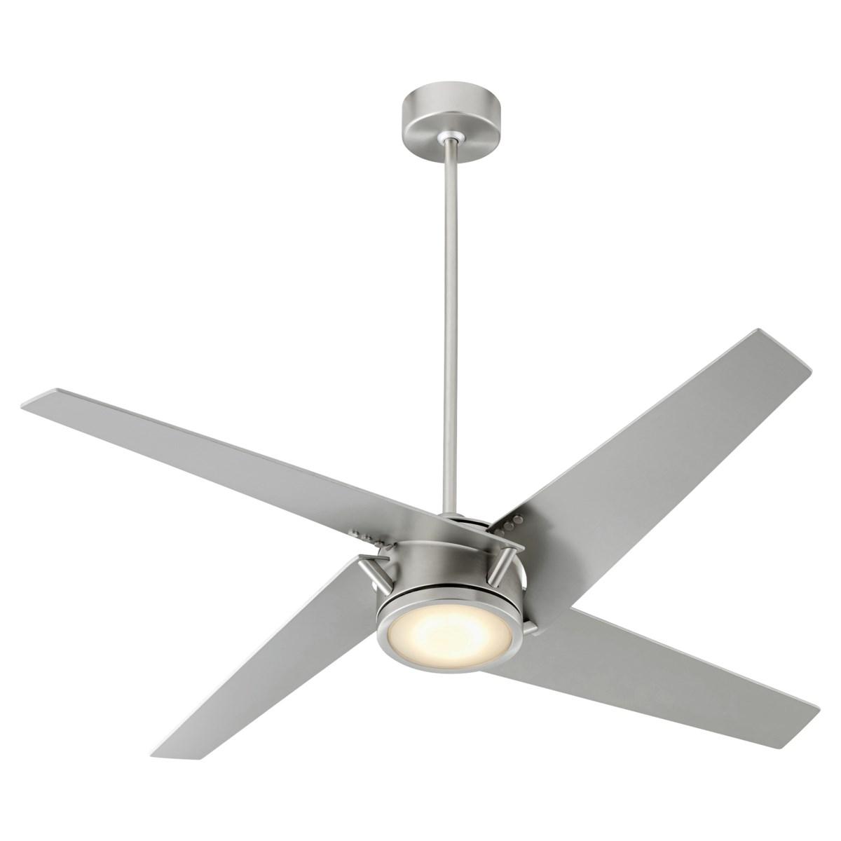 "Axis 54"" Satin Nickel Ceiling Fan"