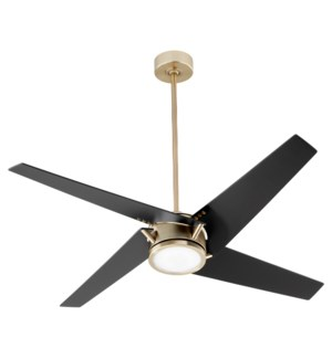 "Axis 54"" Aged Brass Ceiling Fan"