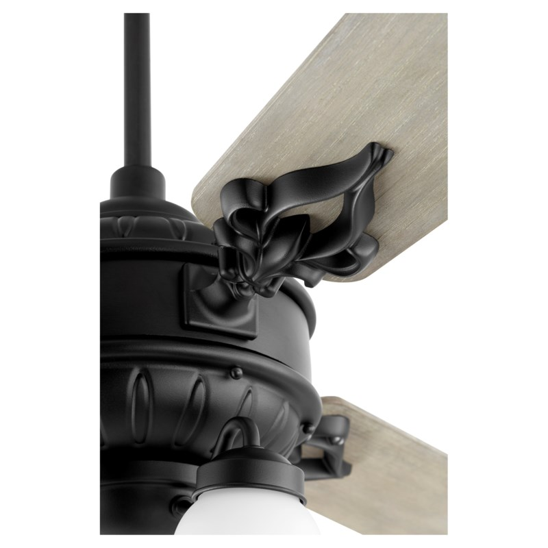 """Brewster 60"""" 3 Blade Noir Ceiling Fan"""