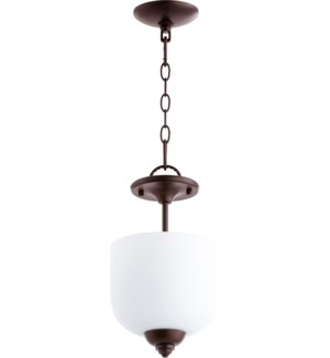 Richmond 8-in Semi-Flush Mount Oiled Bronze