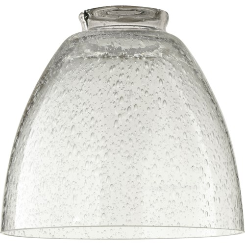 """2.25"""" CLEAR SEEDED GLASS"""