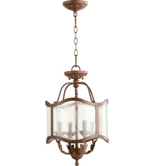 Salento 13-in Semi-Flush Mount Vintage Copper