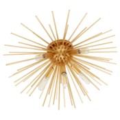Electra 5-Light Gold Leaf Ceiling Mount