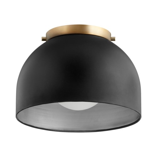 11 Inch Ceiling Mount Black Noir