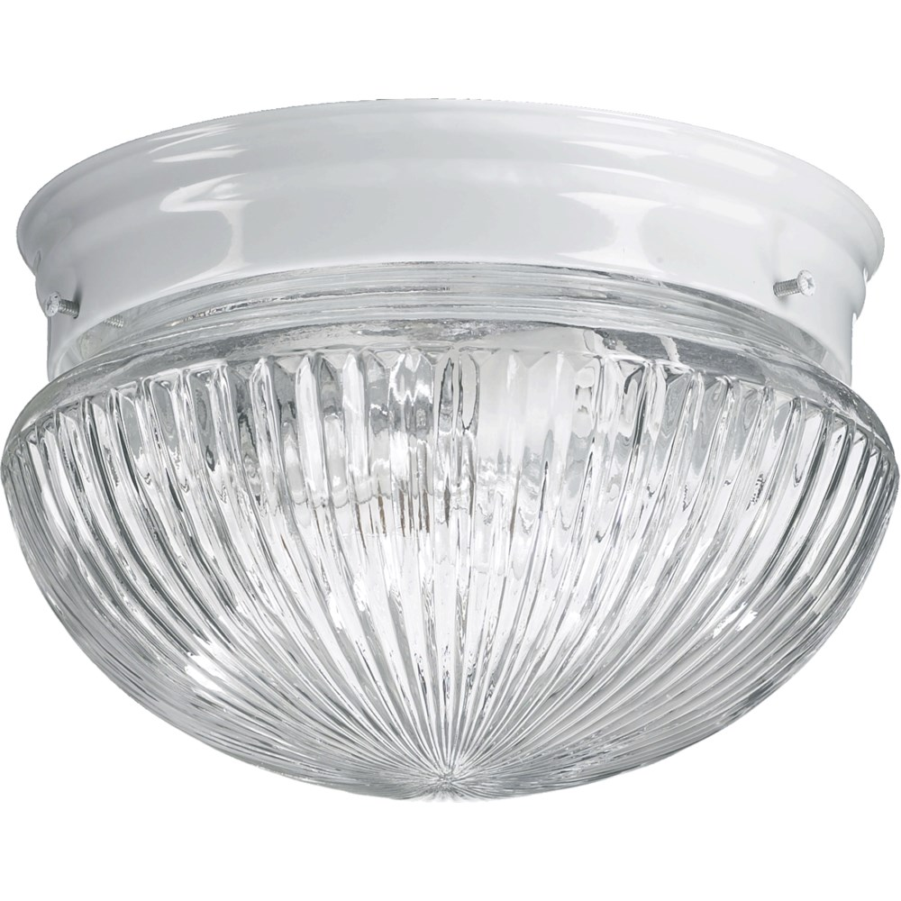 9 Inch Ceiling Mount White