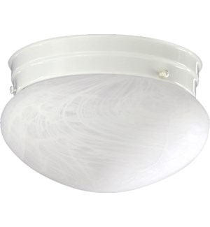 7 Inch Ceiling Mount White