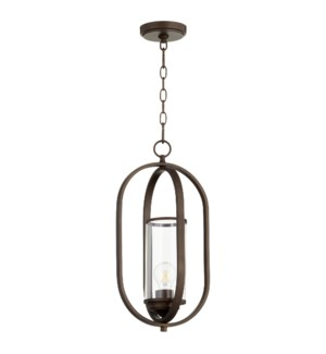 Collins Oiled Bronze Transitional Pendant