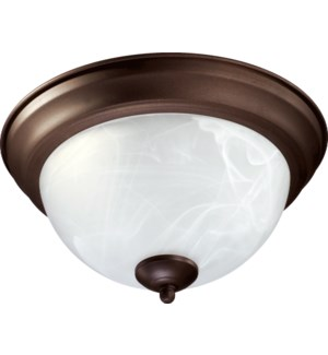 11 Inch  Ceiling Mount Oiled Bronze