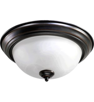 15 Inch Ceiling Mount Old World