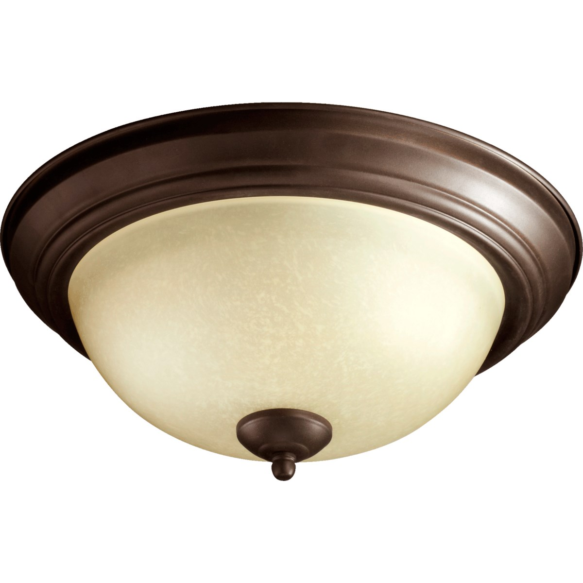13 Inch Ceiling Mount Oiled Bronze