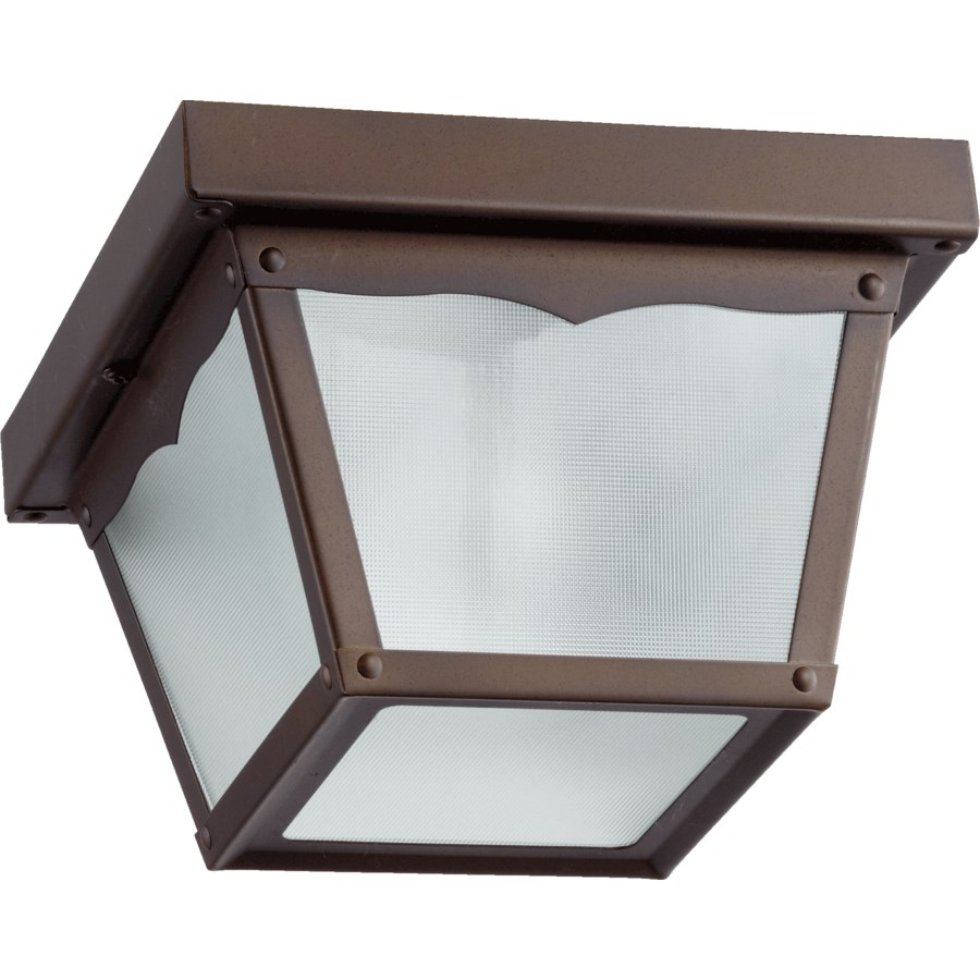 7 Inch Ceiling Mount Oiled Bronze