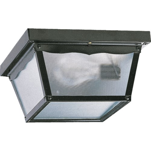 9 Inch Ceiling Mount Black