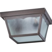 9 Inch Ceiling Mount Rust