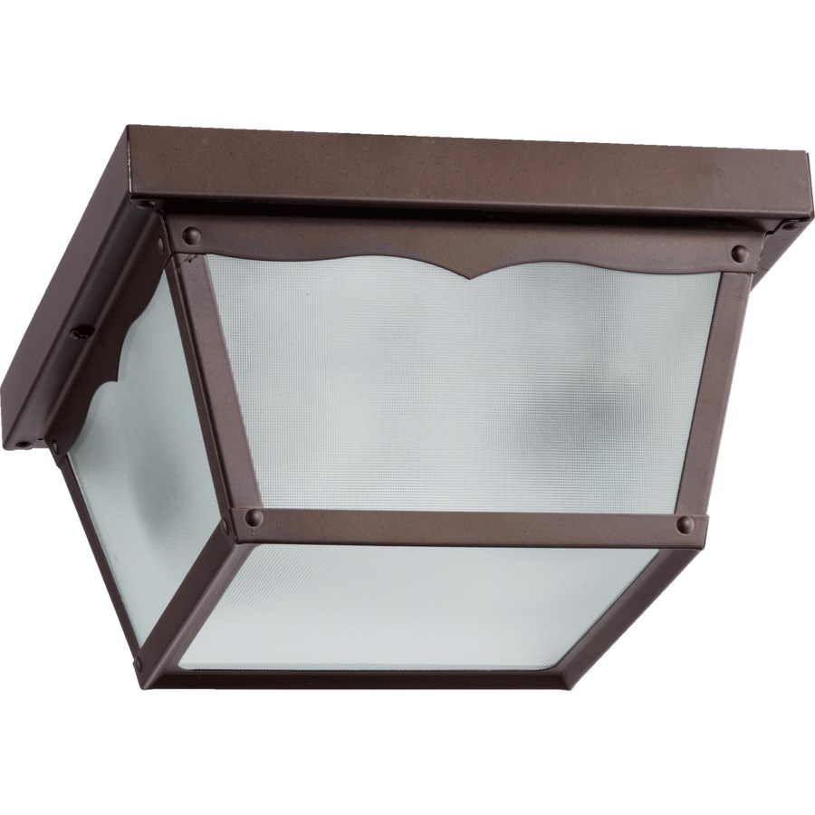 9 Inch Ceiling Mount Oiled Bronze