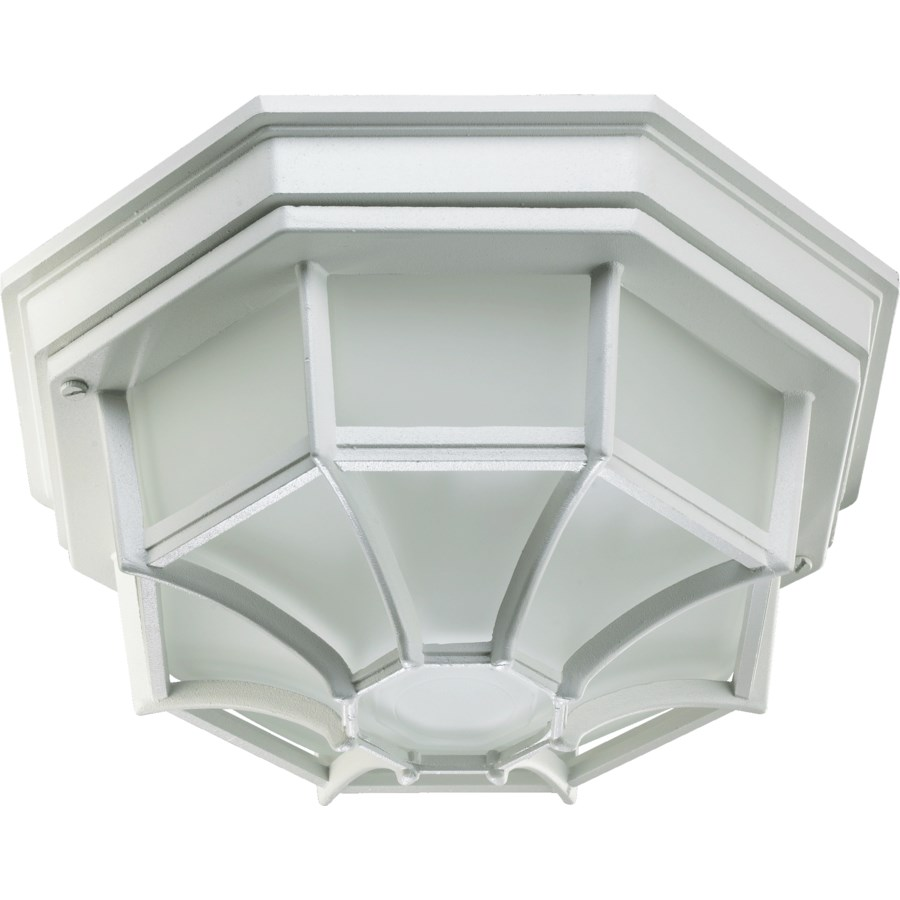 11 Inch  Ceiling Mount White
