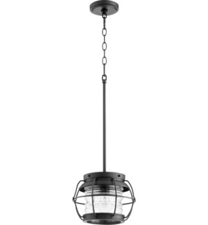 Galveston Black Modern Farmhouse Mini Pendant