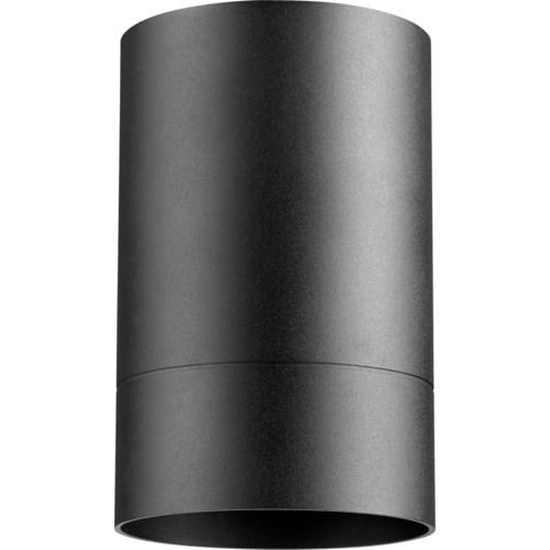 Cylinder 7 Inch Ceiling Mount Black Noir