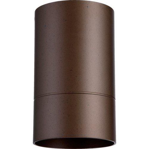 Cylinder 7 Inch Ceiling Mount Oiled Bronze
