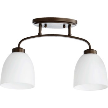 Reyes 16 Inch Ceiling Mount Oiled Bronze