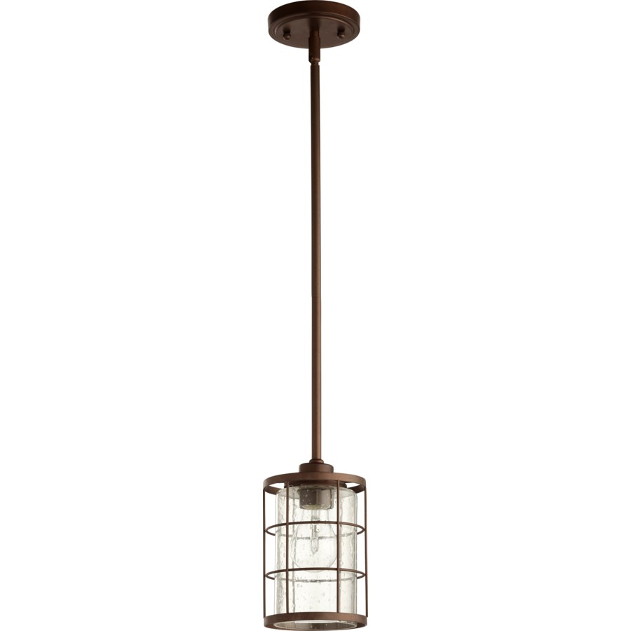 Ellis Oiled Bronze Modern Farmhouse Mini Pendant