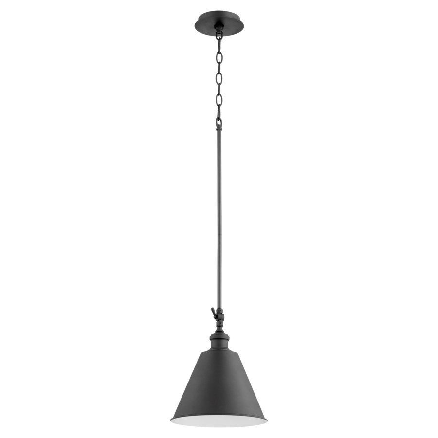 Cone Black Mid Century Modern Mini Pendant