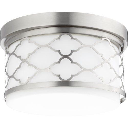 12 Inch Ceiling Mount Satin Nickel