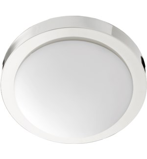 11 Inch  Ceiling Mount Polished Nickel
