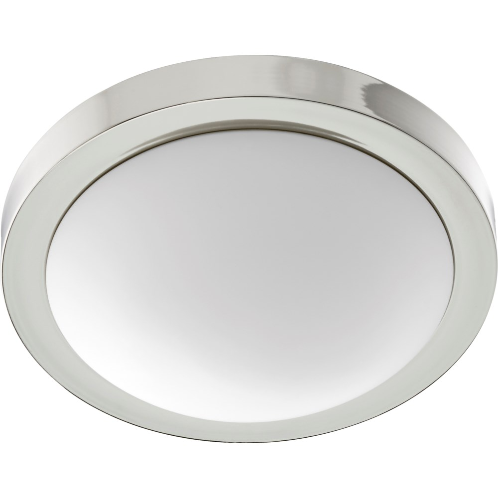 13 Inch Ceiling Mount Polished Nickel