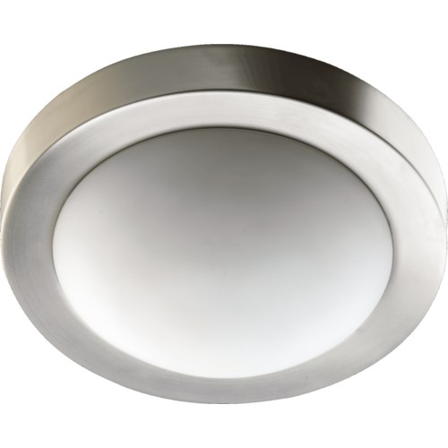 13 Inch Ceiling Mount Satin Nickel