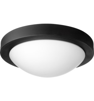 13 Inch Ceiling Mount Black Noir