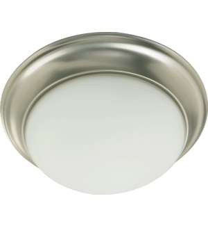 11 Inch  Ceiling Mount Satin Nickel
