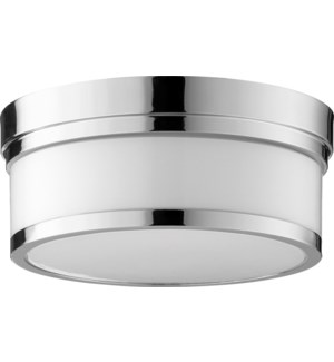 Celeste 12 Inch Ceiling Mount Polished Nickel