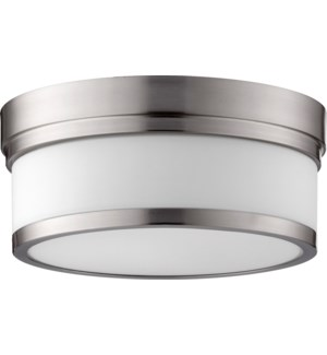 Celeste 12 Inch Ceiling Mount Satin Nickel