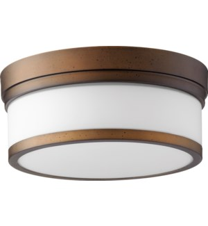 Celeste 12 Inch Ceiling Mount Oiled Bronze