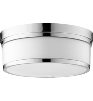 Celeste 14 Inch Ceiling Mount Polished Nickel
