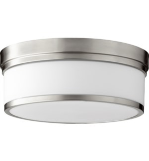 Celeste 14 Inch Ceiling Mount Satin Nickel