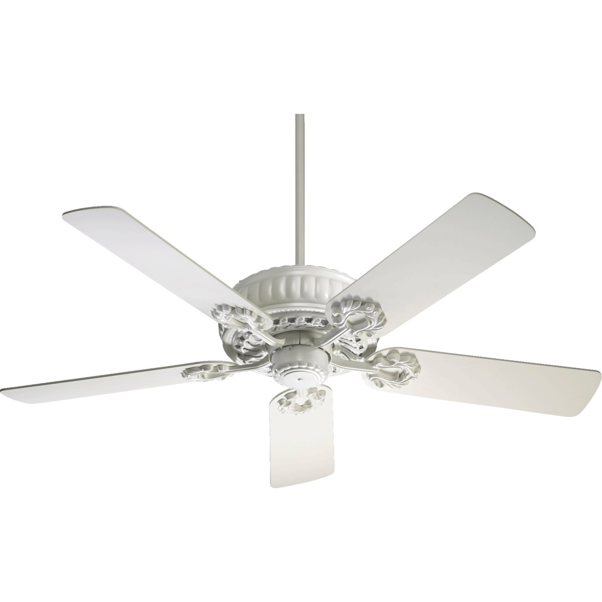 Empress 52-in 5 Blade Studio White Traditional Ceiling Fan