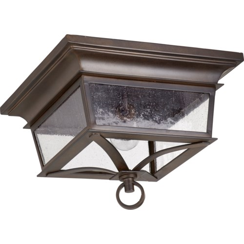 Pavilion 14 Inch Ceiling Mount Oiled Bronze