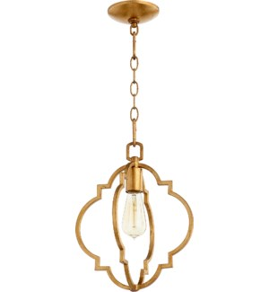 Dublin Gold Leaf Transitional Pendant