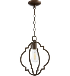 Dublin Oiled Bronze Transitional Pendant
