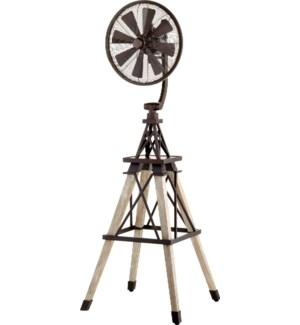 Windmill 70-in 8 Blade Oiled Bronze Modern Farmhouse Ceiling Fan