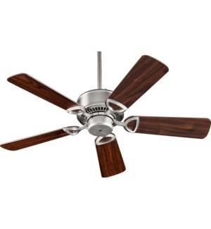 Estate 42-in 5 Blade Satin Nickel Traditional Ceiling Fan