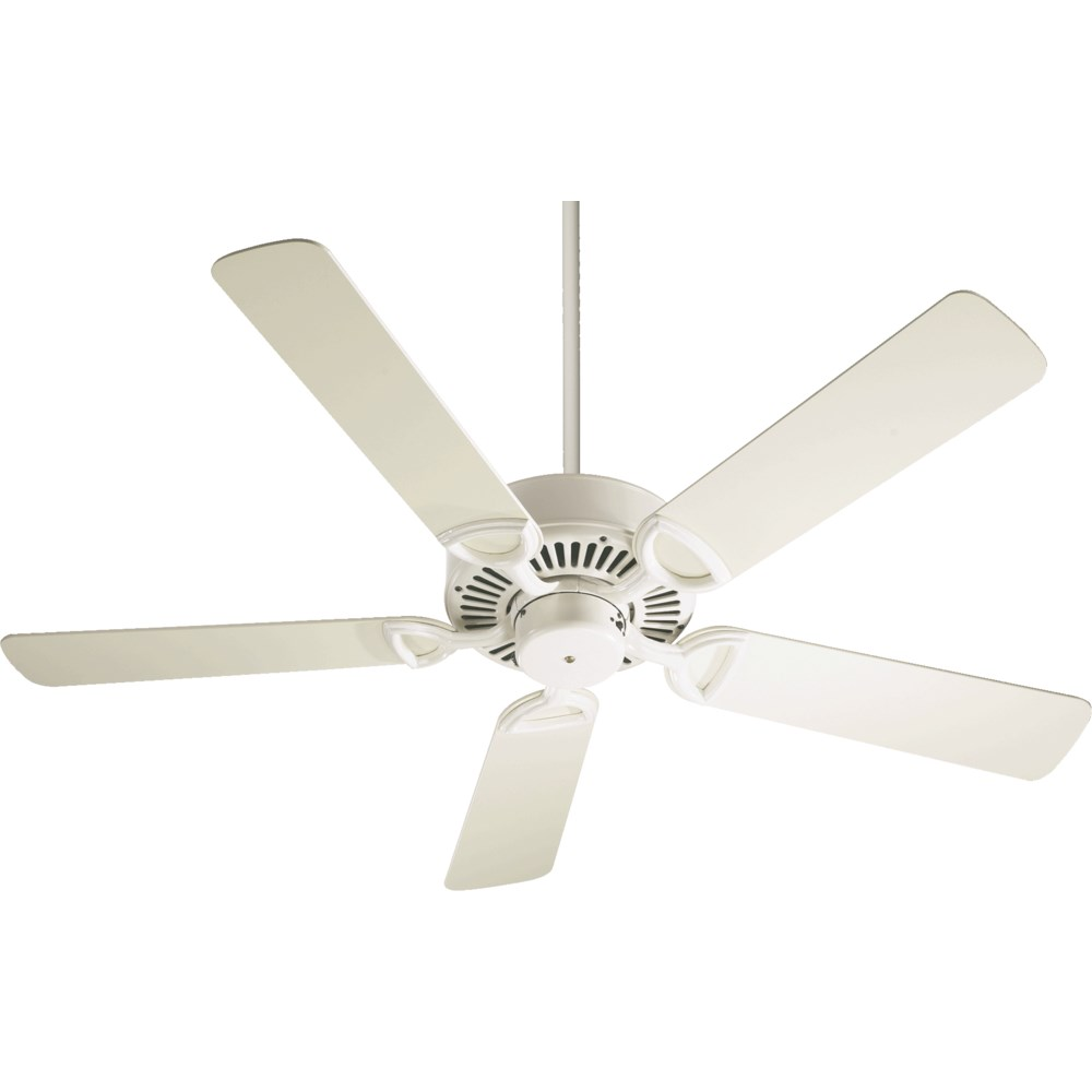 Estate 52-in 5 Blade Antique White Traditional Ceiling Fan
