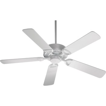 Estate 52-in 5 Blade White Traditional Ceiling Fan