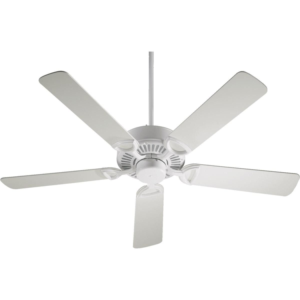 Estate 52-in 5 Blade Studio White Traditional Ceiling Fan